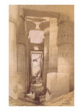 Temple of Karnak at Luxor, Egypt Print