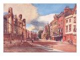 Broad Street, Oxford Print
