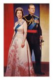 Queen Elizabeth and Prince Phillip Posters