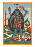 Kali, Goddess of Destruction Print
