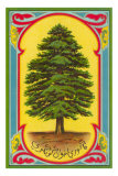 Cedar of Lebanon, Arabic Script Posters