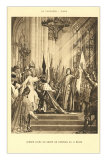 Scene of Jeanne d'Arc at the Pantheon, Paris Posters