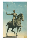 Statue of Jeanne d'Arc Prints