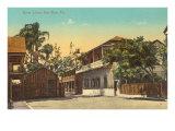 Street Scene, Key West Print