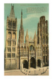 Cathedral at Rouen Posters