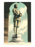 Statue of Jeanne d'Arc Print