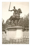 Statue of Jeanne d'Arc, Paris Posters