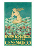 Art Deco Mermaid Posters