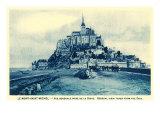 La Mont Saint Michel Poster