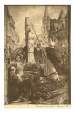 Burning of Jeanne d'Arc Posters