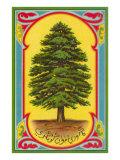 Cedar of Lebanon, Arabic Script Posters