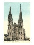 Cathedral of Chartres Posters