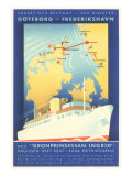 Swedish Shipping Posters