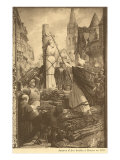 Burning of Jeanne d'Arc Poster