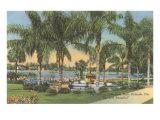 Eola Park, Orlando, Florida Poster