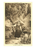 The Vision of Jeanne d'Arc Print