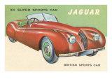 Super Sports Car Posters
