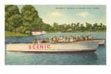 Powerboat Cruising, Winter Park Posters