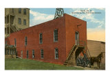 Early Harrisburg, Pennsylvania Fire House Posters