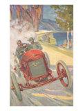 Vintage Road Racing Poster