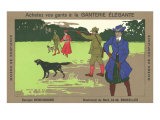Belgian Pheasant Hunters Poster