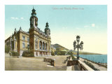 Casino and Theater, Monte Carlo Giclee Print