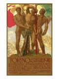 1911 Italian Fair Poster