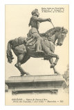 Statue of Jeanne d'Arc Photo