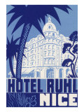 Hotel Ruhl, Nice, France Posters