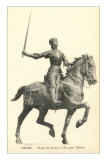 Statue of Jeanne d&#39;Arc Prints