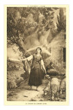 The Vision of Jeanne d&#39;Arc Prints