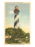 Anastasia Lighthouse, St. Augustine, Florida Poster