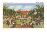 Hialeah Race Track, Florida Poster
