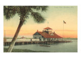 Yacht Club, Daytona, Florida Poster