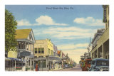Duvat Street, Key West, Florida Posters