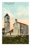 Spanish Lighthouse, St. Augustine, Florida Posters