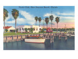 Yacht Club, New Smyrna Beach Poster