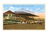 Hialeah Race Track, Miami, Florida Plakaty