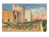 Biscayne Boulevard, Miami, Florida Posters