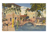 Venetian Pools, Coral Gables, Florida Posters