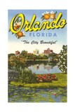 Vue d&#39;Orlando, Floride Posters