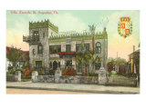 Villa Zorayda, St. Augustine, Florida Print