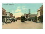 Main Street, Sanford, Florida Poster