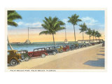 Pier, Palm Beacgh, Florida Posters