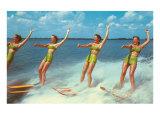 Water Skiers, Florida Posters