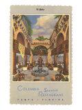 Columbia Spanish Restaurant, Tampa, Florida Posters