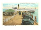 Municipal Pier, St. Petersburg, Florida Poster