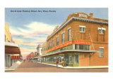 Duval Street, Key West, Florida Poster