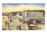 Beach, Sarasota, Florida Print