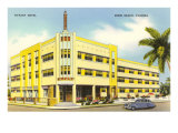Tiffany Hotel, Miami Beach, Florida Posters
